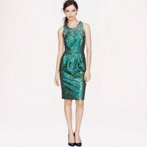 RARE!! J. Crew Collection Jewel Embellished Dress